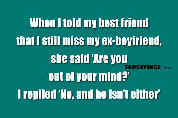 i still miss my ex husband
