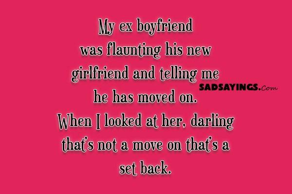 My Ex Boyfriend Was Flaunting His New