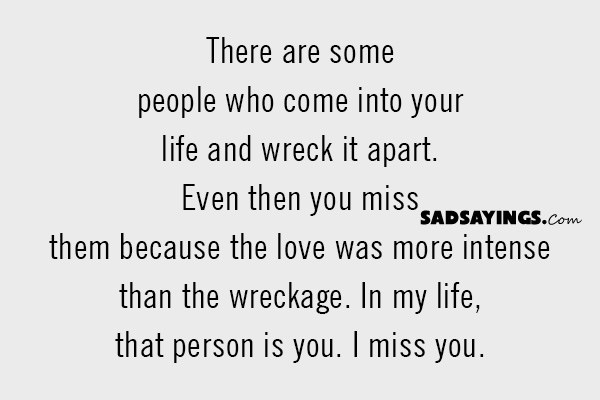 sad sayings about missing ex husband sad sayings