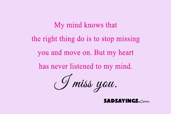Sad Sayings About Missing Your Husband - Sad Sayings