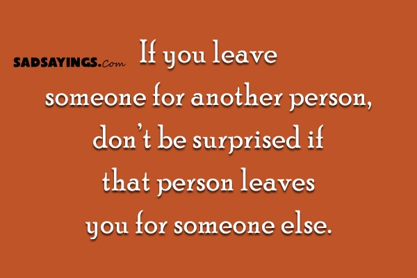how to leave your spouse for someone else