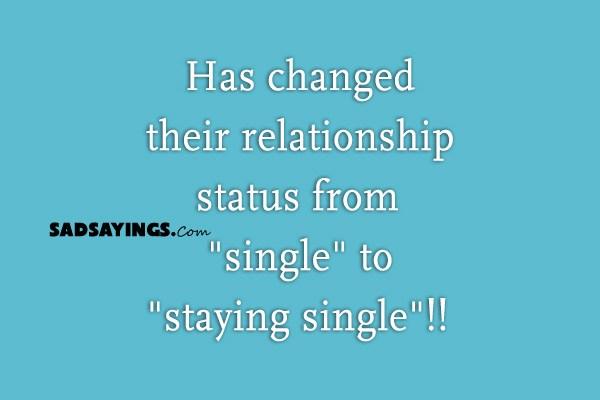sad relationship status