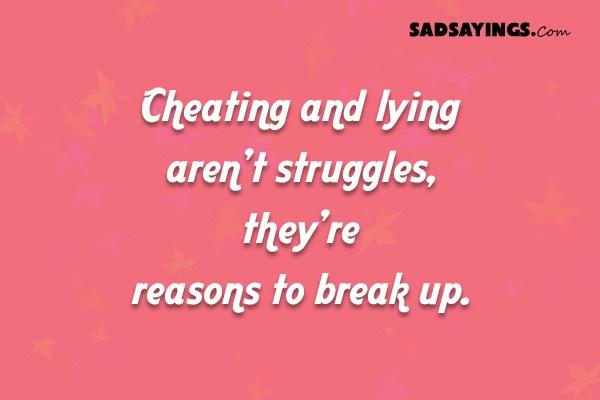 Sad Sayings About Cheating - Sad Sayings - Page 5